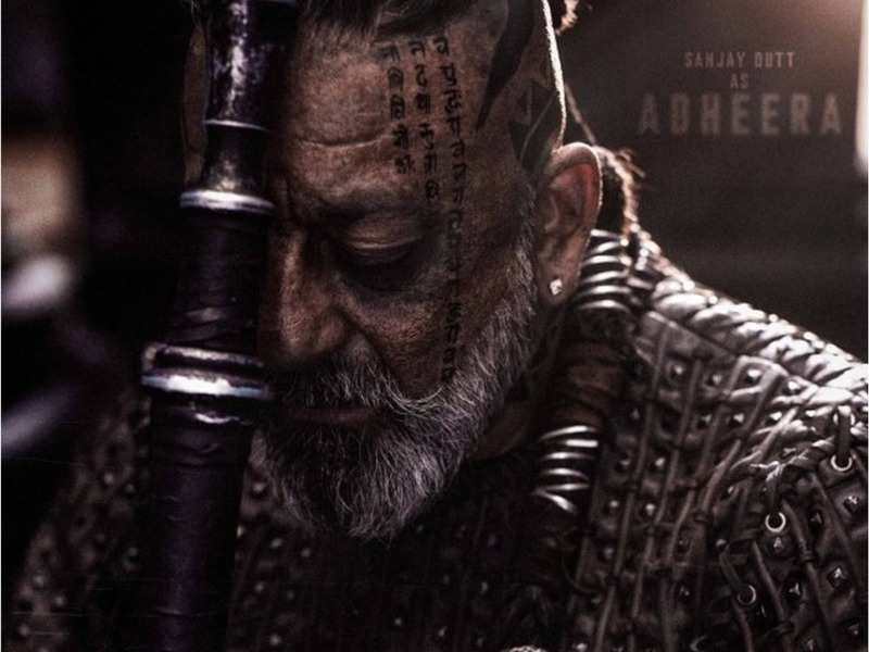 'KGF' Adheera's first look released: Sanjay Dutt impresses with his intense look