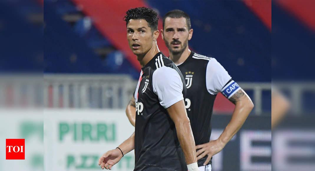 Juventus Crash To Humiliating Cagliari Defeat Ciro Immobile Eyes Goal Record Football News Times Of India
