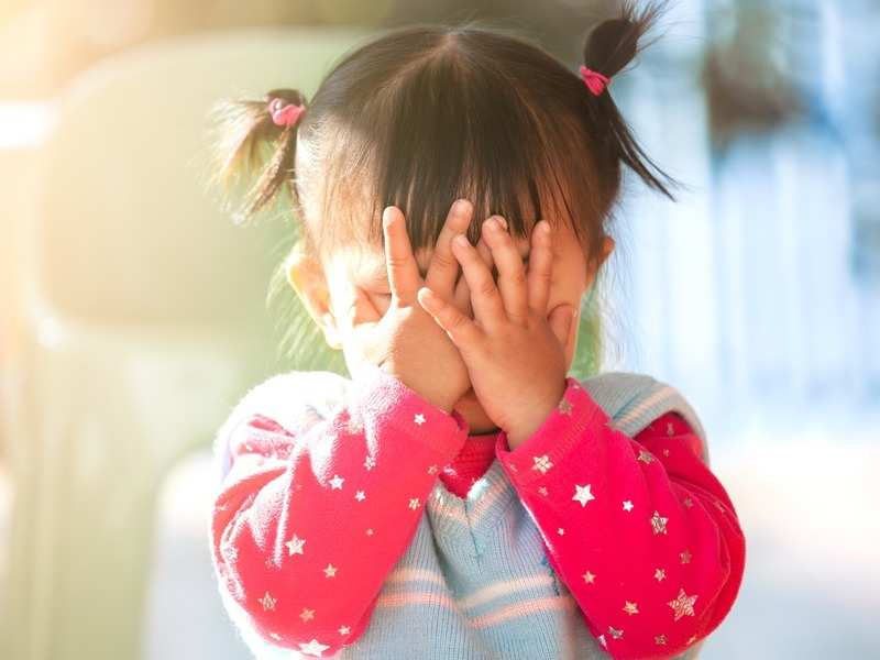 I want my 3.5 year old to communicate her feelings to me