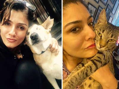 Ranveena introduces her furry best friends