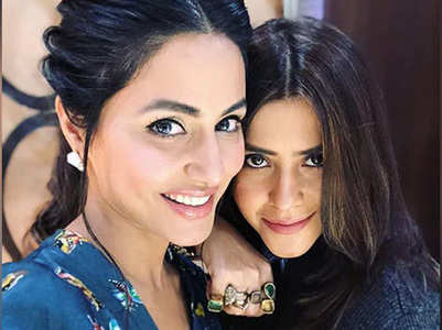Ekta reveals Hina Khan's look from Naagin 5