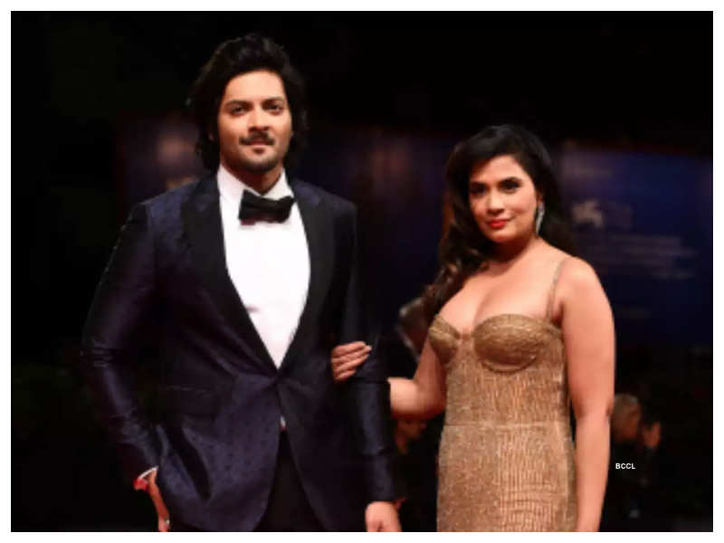 Fan asks Richa Chadha when she is going to marry Ali Fazal and her reply is sure to crack you up!
