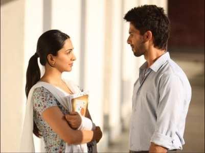 Shahid wishes his 'Preeti' Kiara on her b'day