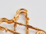 versace safety pins