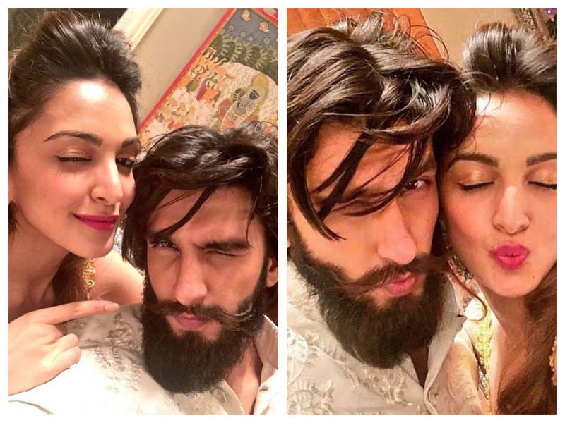 Ranveer Singh and Kiara Advani have their selfie game right on point in these throwback pictures