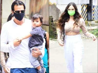 Arjun Rampal & Gabriella steps out with Arik