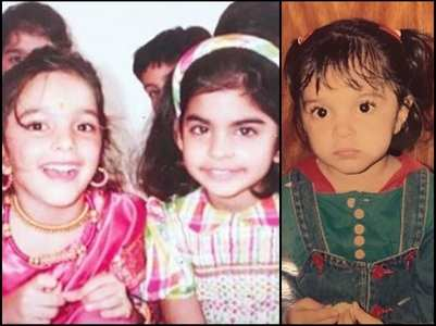 Childhood pictures of Kiara Advani