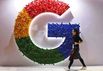 Google revenues drop for first time in the company's history
