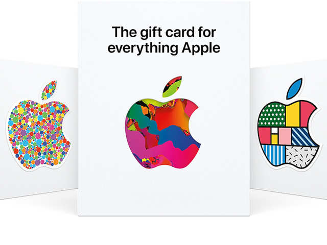 Apple now has a single gift card for all of its services