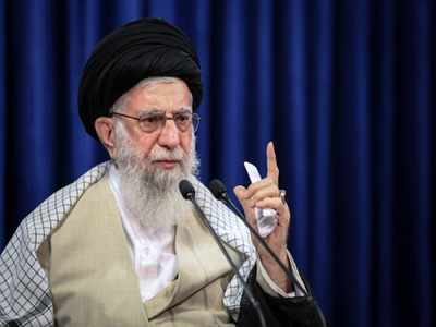 Iran's Khamenei says sanctions failed, no talks with Trump