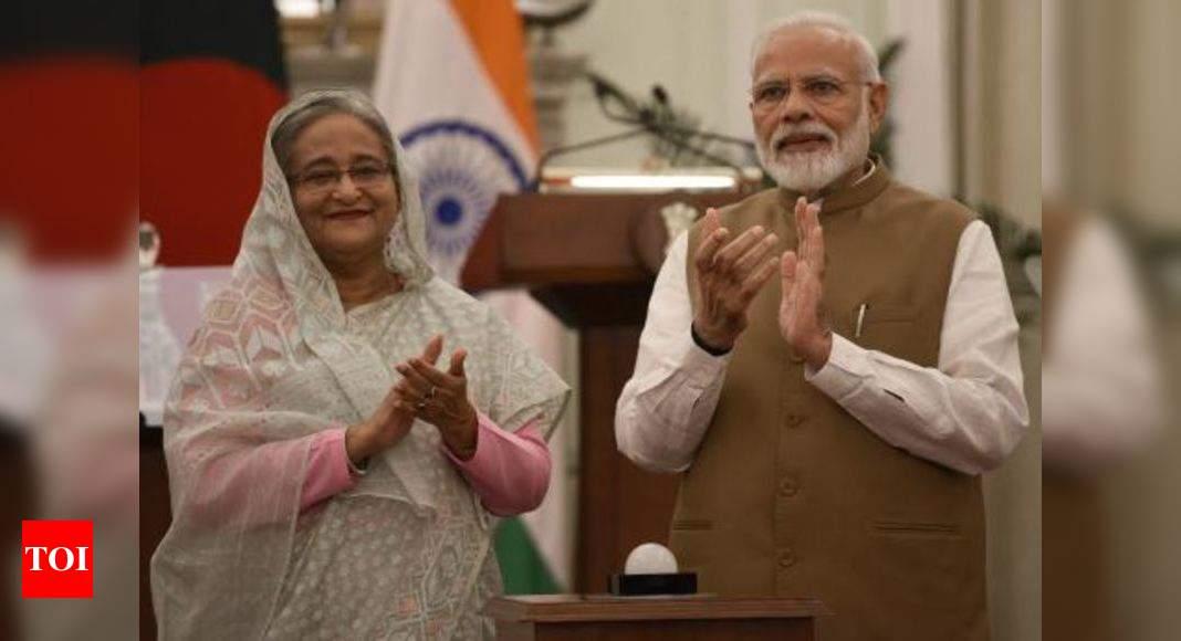 PM Modi extends greetings to Sheikh Hasina on Eid-ul-Azha – Times of India