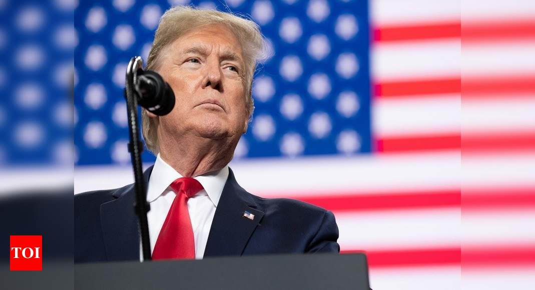 Trump faces rare rebuke from GOP for floating election delay – Times of India