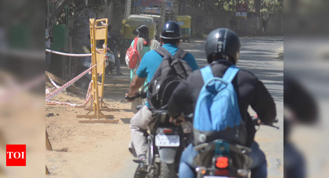 Govt notifies proposal for mandatory compliance of BIS norms for helmets | India News – Times of India