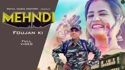 Haryanvi Gana 2020: Latest Haryanvi Song 'Mehndi Foujan Ki' Sung by Tarun Panchal