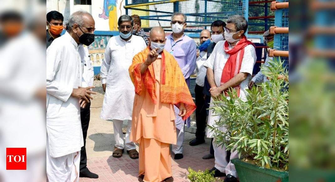 Temple outreach to propel CM Yogi Adityanath as next Hindutva poster boy? - Times of India