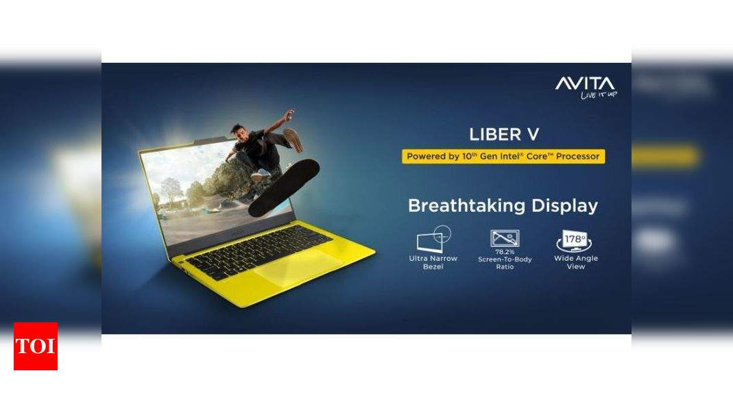 liber v14:  Avita launches Liber V14 laptop in India, price starts at Rs 41,490 – Times of India