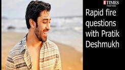 Rapid Fire with Pratik Deshmukh
