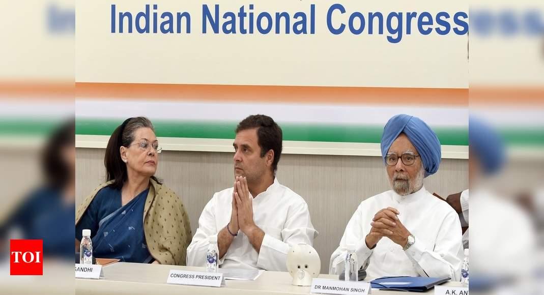 Oldtimers defend UPA govt against Rahul loyalists