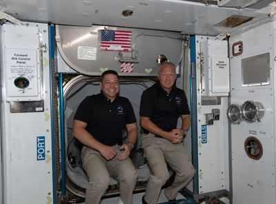 NASA astronauts successfully reach Earth aboard SpaceX capsule