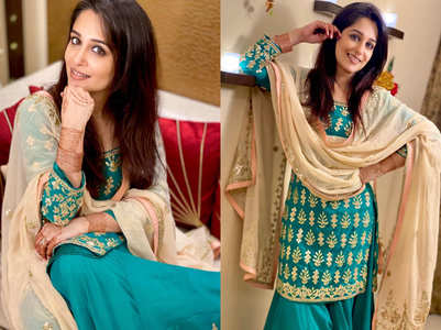 Dipika dazzles in ethnic wear on Eid