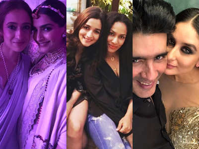 B'wood celebs & their fashion designer BFFs