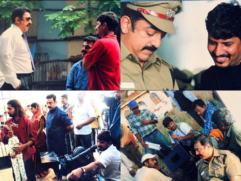 Ravi Varman shares pictures from Vettaiyaadu Viliayaadu shoot