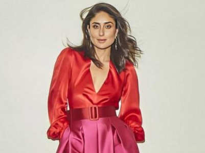 How to wear red and pink together like B'wood