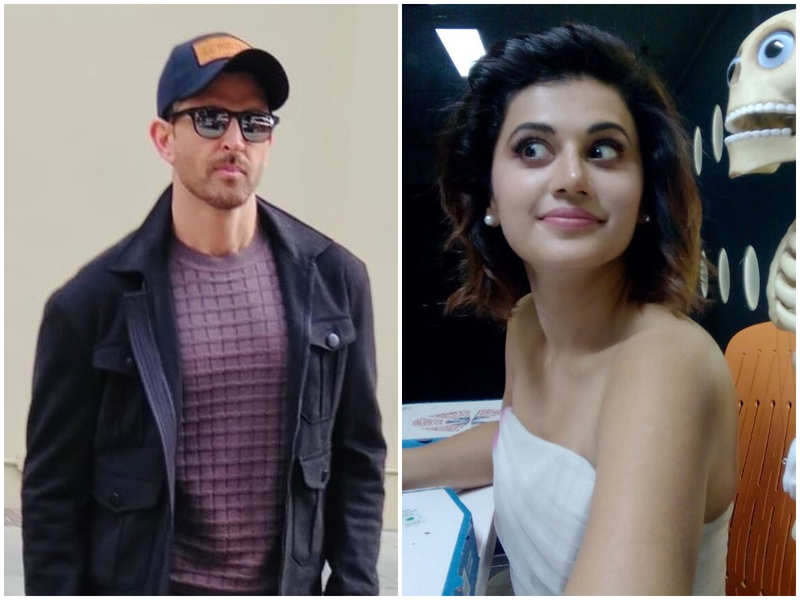 Taapsee Pannu dumbfounded with Hrithik Roshan's message