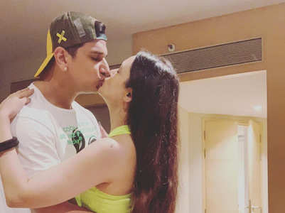 Prince Narula's sweet b'day wish for Yuvika