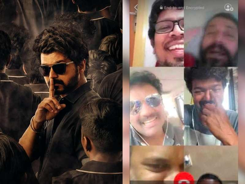 Vijay catches up with friends on video call on #FriendshipDay