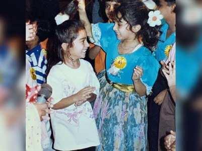 Shraddha posts a super adorable childhood pic