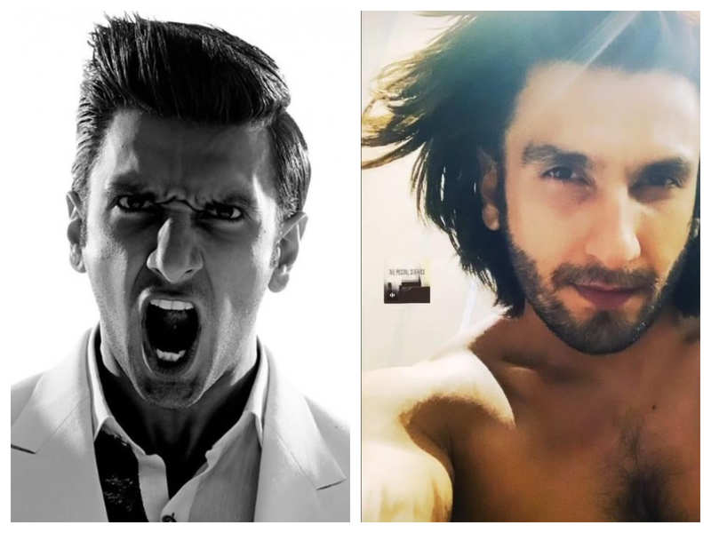 Ranveer Singh shares a glimpse of his two contrasting Monday moods and they are right on point
