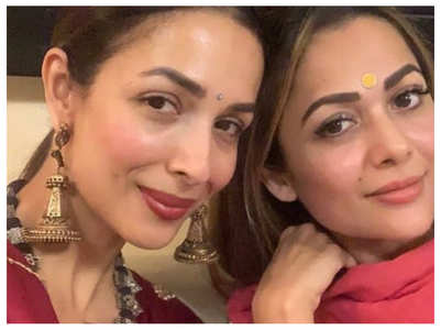 Malaika's Raksha Bandhan post for Amrita
