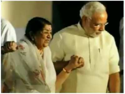 Lata Mangeshkar's rakhi message to PM Modi