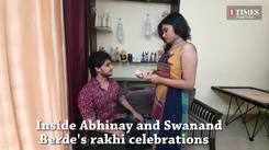 Chocolates, ashirwad and a singing performance: Abhinay's gifts to sis Swanandi