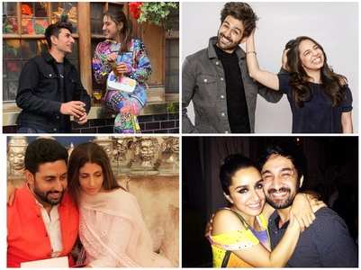 10 goofy photos of B-town siblings