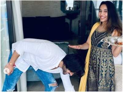 Kartik shares adorable Raksha Bandhan post