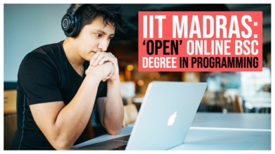 IIT Madras starts taking applications for 'open' online BSc degree in programming, data science