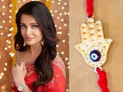 Aishwarya shares a post on Raksha Bandhan