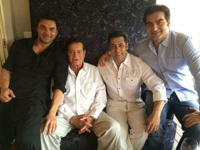 Arbaaz Khan's priceless photos with Salman