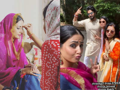 Hina's fun-filled affair with Rocky's family