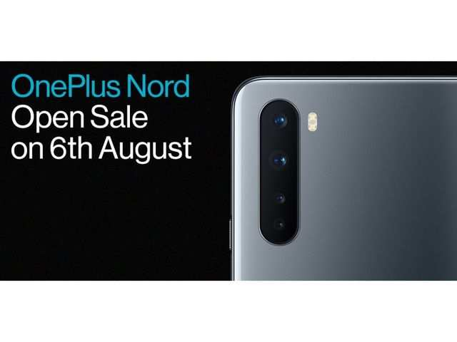 OnePlus Nord Day sale postponed, now on August 6