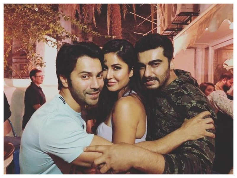 THIS throwback picture of Katrina Kaif with Varun Dhawan and Arjun Kapoor will make you want to see them together in a movie