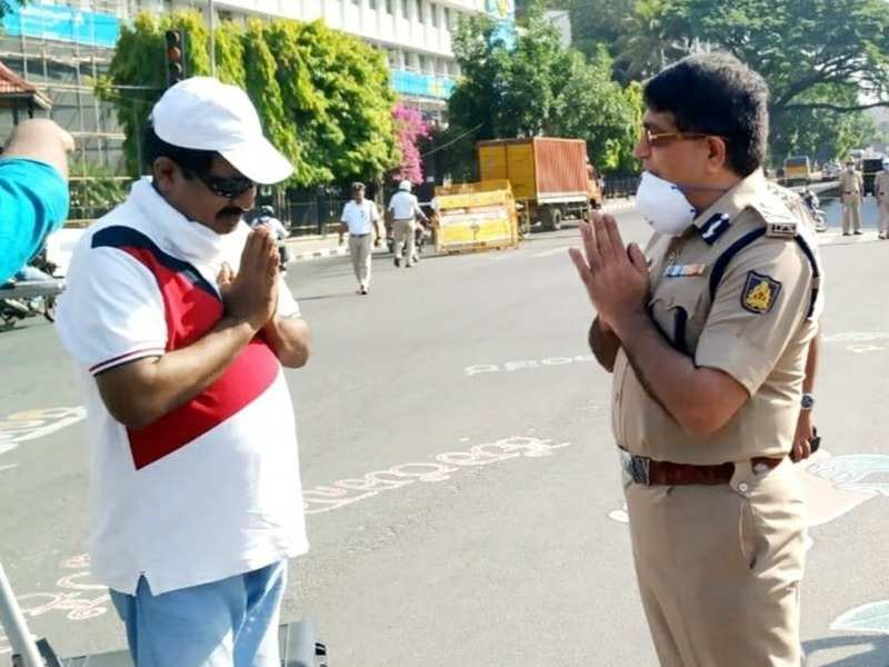 Yogaraj Bhat praised Ex-Police Commissioner Baskar Rao