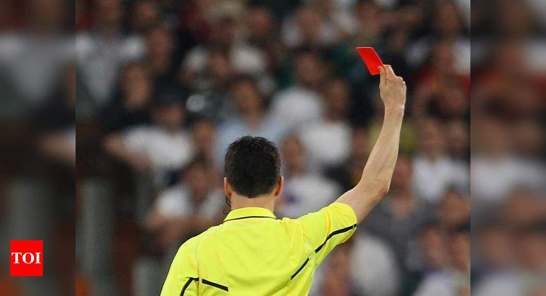 News Sports News Football News Red card warning for deliberate coughing in football