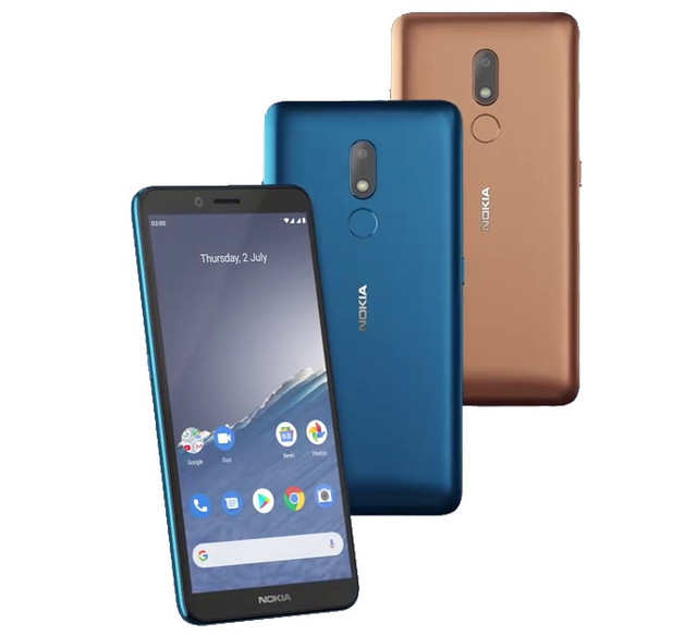 Nokia C3 smartphone with HD+ display launched