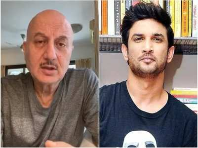 SSR case: Anupam Kher shares a message