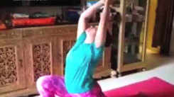 Deepali Bhosale swears by yoga to keep her mind and body relax