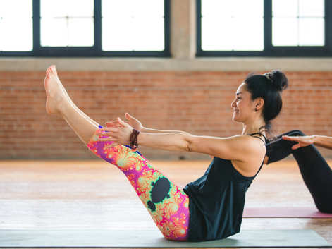 One yoga pose you need to do for strengthening your core muscles