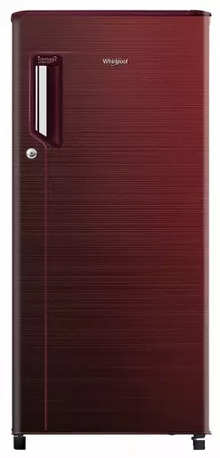 Whirlpool Icemagic Powercool 185 L Single Door 2 Star Wine Chromium Steel Refrigerator